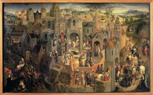 Memling, Hans (1425/40-1494): The Passion. Turin, Galleria Sabauda*** Permission for usage must be provided in writing from Scala. ***